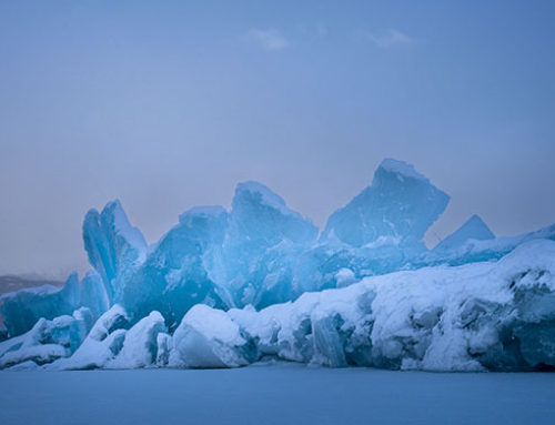 How to Photograph Glaciers in Winter